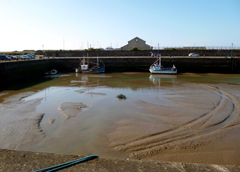 Maryport Harbour at Low Tide